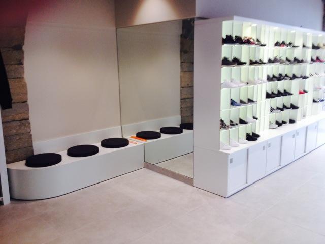 Aménagement Magasin Chaussures